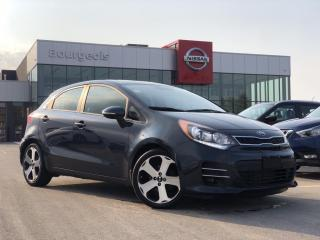 Used 2016 Kia Rio SX LEATHER, NAVIGATION, SUNROOF for sale in Midland, ON