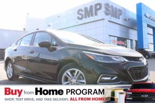 Used 2018 Chevrolet Cruze LT- RS Pkg, Remote Start, Heated Seats, Back Up Camera, New Tires for sale in Saskatoon, SK