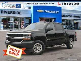 Used 2017 Chevrolet Silverado 1500 WT for sale in Brockville, ON