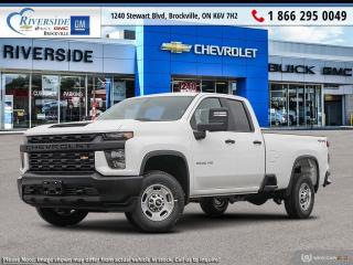 New 2020 Chevrolet Silverado 2500 HD Work Truck for sale in Brockville, ON