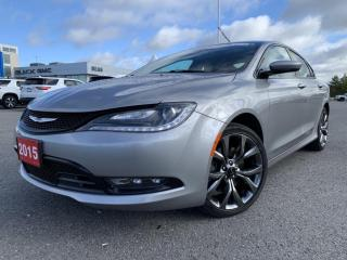 Used 2015 Chrysler 200 200 S V6 Automatic for sale in Carleton Place, ON