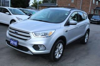 Used 2018 Ford Escape SEL Leather AWD Pano Roof for sale in Brampton, ON