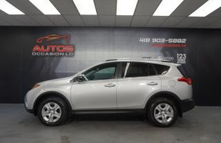 Used 2015 Toyota RAV4 LE AWD AUTO CAMERA SIÈGES BLUETOOTH 106 504 KM !! for sale in Lévis, QC