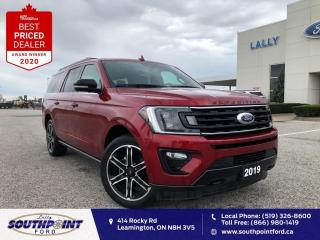 Used 2019 Ford Expedition Max Limited Max Leather HTD&Cooled seats Navi Sunroof  for sale in Leamington, ON