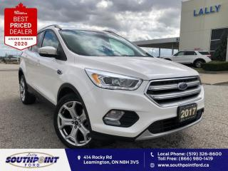 Used 2017 Ford Escape Titanium Leather HTD seats Navi Sunroof  for sale in Leamington, ON