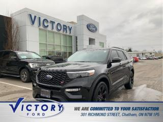 Used 2020 Ford Explorer ST| 3.99% | ADAPTIVE CRUISE| LANE KEEPING| PANO RO for sale in Chatham, ON