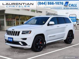 Used 2016 Jeep Grand Cherokee Overland!!  ECO-DIESEL!!  4WD!!  NAVIGATION!! for sale in Sudbury, ON