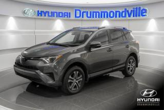 Used 2017 Toyota RAV4 LE + GARANTIE + CAMERA + A/C + MAGS + W for sale in Drummondville, QC