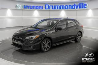 Used 2017 Subaru Impreza SPORT + GARANTIE + TOIT + CAMERA + WOW ! for sale in Drummondville, QC
