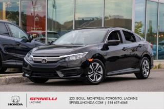 Used 2018 Honda Civic LX MANUELLE BAS KM *MANUELLE*AC*CAMERA*BLUETOOTH*CRUISE*SIEGES CHAUFFANTS*++ for sale in Lachine, QC