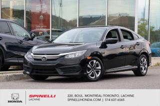 Used 2017 Honda Civic LX MANUELLE SEDAN AC*CAMERA*BLUETOOTH*CRUISE*SIEGES CHAUFFANTS*++ for sale in Lachine, QC