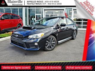 Used 2018 Subaru WRX 4X4 MAN DEMARREUR JAMAIS ACCIDENTE 1 PROPRIO for sale in Blainville, QC