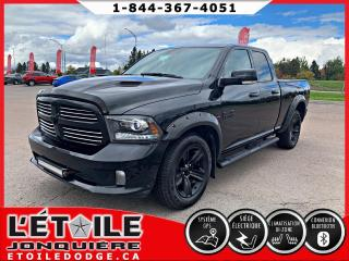 Used 2016 RAM 1500 Cabine quad 4x4 Sport V8 for sale in Jonquière, QC