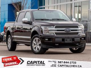 Used 2018 Ford F-150 PLATINUM for sale in Calgary, AB