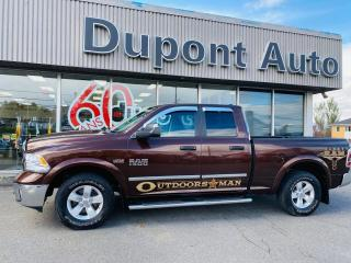 Used 2014 RAM 1500 Cabine quad 4RM, 140,5 po Outdoorsman for sale in Alma, QC