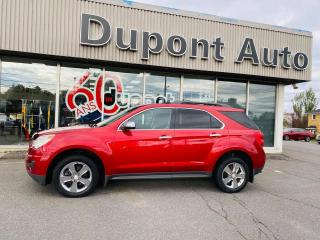 Used 2014 Chevrolet Equinox LT 4portes à transmission intégrale ave for sale in Alma, QC