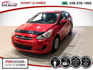 Used 2016 Hyundai Accent * LE* JAMAIS ACCIDENTÉ* UN SEUL PROPRIO* for sale in Québec, QC
