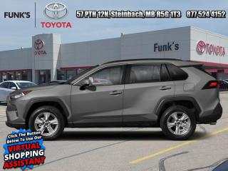 New 2020 Toyota RAV4 XLE AWD  Includes Winter Tires on Steel Rims   $1300 value for sale in Steinbach, MB