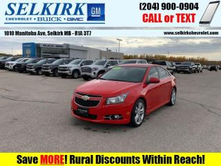Used 2014 Chevrolet Cruze 2LT  *Loaded RS* for sale in Selkirk, MB