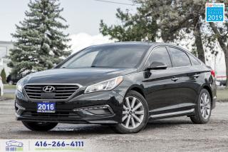 Used 2016 Hyundai Sonata Limited-Ultimate|One owner|Clean carfax|Navi|Roof for sale in Bolton, ON