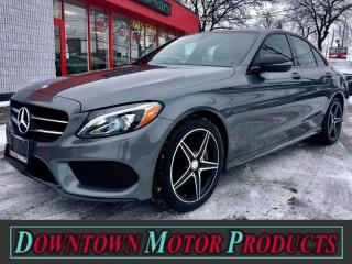 Used 2017 Mercedes-Benz C-Class C 300 4MATIC for sale in London, ON