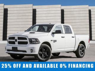 New 2020 RAM 1500 Classic Express 4x4 Crew Cab Save $13,363 - $243/bw for sale in Winnipeg, MB