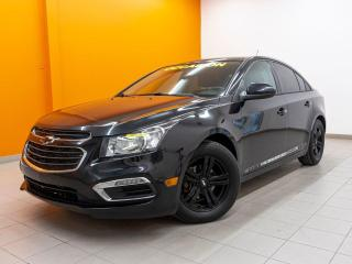 Used 2016 Chevrolet Cruze LT AUTOMATIQUE CAMÉRA RECUL *ÉCRAN TACTILE* for sale in St-Jérôme, QC