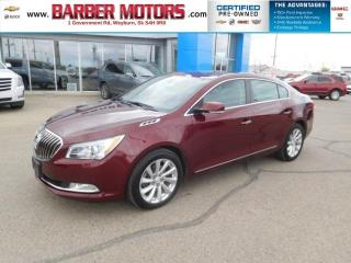 Used 2016 Buick LaCrosse Leather for sale in Weyburn, SK