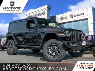 New 2021 Jeep Wrangler Rubicon Unlimited  - Leather Seats - $465 B/W for sale in Abbotsford, BC
