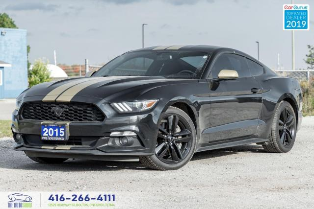 2015 Ford Mustang Ecoboost|Performance package-Recaros|