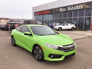 Used 2016 Honda Civic COUPE EX-T, TURBO, AUTO for sale in Edmonton, AB
