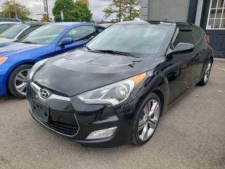 Used 2013 Hyundai Veloster w/Tech*NAV*REARVIEW CAM*LOW KMS*3 DOOR COUPE* for sale in Hamilton, ON
