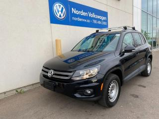 Used 2017 Volkswagen Tiguan WOLFSBURG EDITION - PANORAMIC ROOF / LOADED for sale in Edmonton, AB