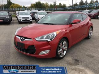 Used 2016 Hyundai Veloster Tech for sale in Woodstock, ON