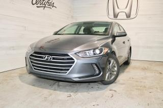 Used 2017 Hyundai Elantra GL 4 PORTES for sale in Blainville, QC