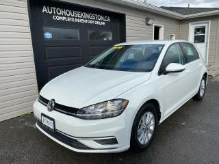 Used 2019 Volkswagen Golf COMFORTLINE - COMPREHENSIVE WARRANTY!! for sale in Kingston, ON