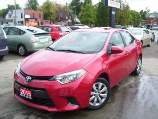 Used 2015 Toyota Corolla LE,BLUETOOTH,BACK UP CAMERA,HEATED SEATS,CERTIFIED for sale in Kitchener, ON