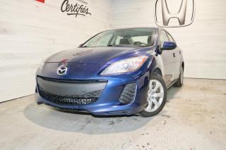 Used 2012 Mazda MAZDA3 GX 4 PORTES for sale in Blainville, QC