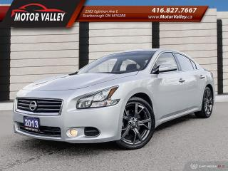 Used 2013 Nissan Maxima 3.5 SV Only 044,575KM BackUp Camera Mint! for sale in Scarborough, ON