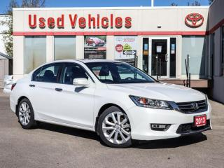 Used 2013 Honda Accord TOURING SUNROOF ALLOYS NAVI LEATHER BLIND SPOT for sale in North York, ON