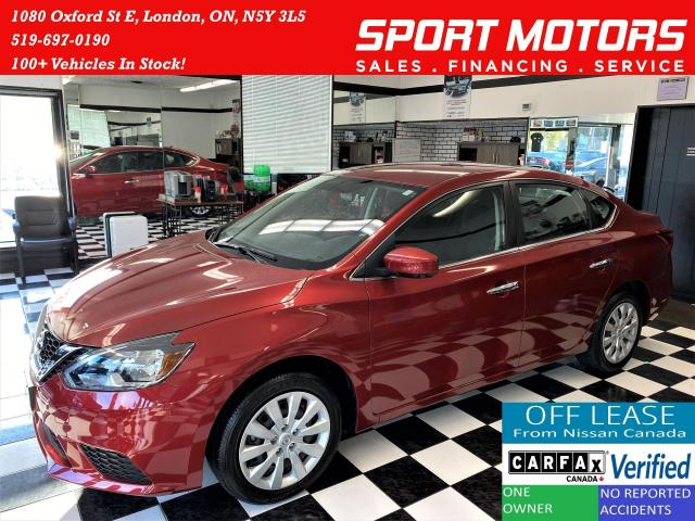 2017 Nissan Sentra SV+Heated Seats+Camera+Bluetooth+Accident Free