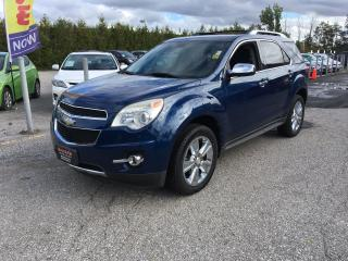 Used 2010 Chevrolet Equinox LTZ for sale in Newmarket, ON