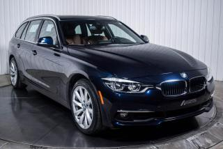 Used 2017 BMW 3 Series 330i TOURING XDRIVE CUIR BRUN TOIT NAV for sale in St-Hubert, QC