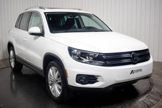 Used 2017 Volkswagen Tiguan COMFORTLINE 4 MOTION  CUIR TOIT MAGS for sale in St-Hubert, QC