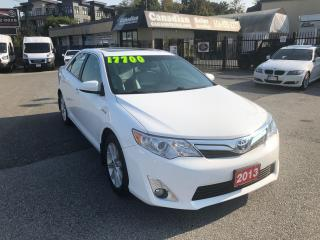 Used 2013 Toyota Camry XLE 2.5L 200HP CVT AUTO HYBRID for sale in Langley, BC