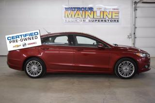 Used 2014 Ford Fusion SE for sale in Watrous, SK