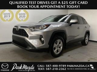Used 2020 Toyota RAV4 XLE for sale in Sherwood Park, AB
