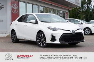 Used 2017 Toyota Corolla XSE GPS, CUIR, MAGS for sale in Pointe-Claire, QC