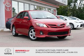 Used 2011 Toyota Corolla SPORT  BAS KM!!!!!!!!!!!! for sale in Pointe-Claire, QC