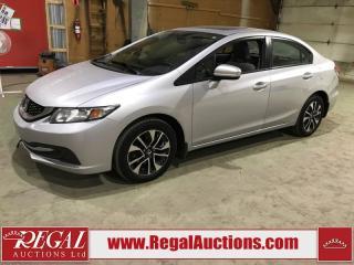 Used 2014 Honda Civic EX 4D Sedan for sale in Calgary, AB